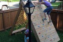 climbing wall  enfant