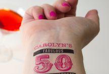 50th Birthday Tattoo