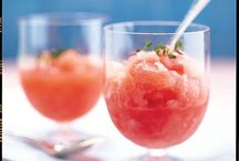 Granitas and Ices / Frozen drinks and desserts