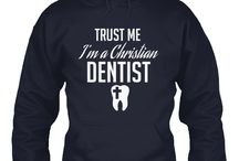 Christian Dentist / This shirt tells the life of a Dentist who decides to provide Dental Care and proclaim healing to patients who are suffering from dental problems. This shirt is great for Dentists who not just do their job but make it a part of their mission in Life! Great to wear as uniforms too by Dentist who were on a Medical Mission! Click Here to Purchase => http://discipletee.com/store