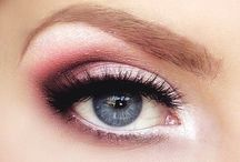 Eyeshadow for green eyes and blonde hair