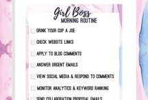 checklist girl boss