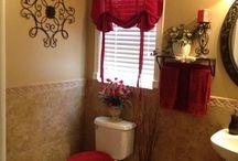 Bathroom downstairs / by Stefanie Haile