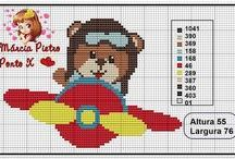 Crossstitch baby