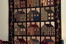 Quilts...Houses