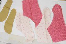 足袋 / 自分で作った足袋はブログで紹介してます。 http://toawasai.jp/hana-blog/2015/10/post-42.html