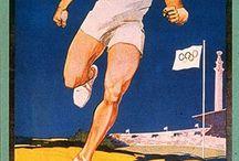 Cartelería de los Juegos Olímpicos desde sus inicios.