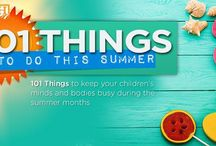 101 Things To Do This Summer 2016 / by Homeschool.com