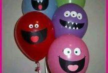 renkli balonlar