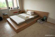 Спальня / Кровать подиум