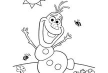 Free Coloring pages / Here's a board full of free coloring pages for kids. I have toddlers and anything I can get for free that will entertain my kids is gold in my book!
