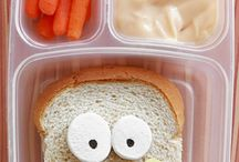 Lunches & Snack Time Ideas / Lunches, snacks, after school snacks & other fun food ideas. / by Mom Are We There Yet