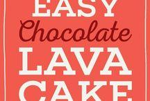 Chocolade lava
