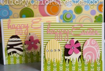 Cards and Banners, handmade with love / http://clickychickcreates.com