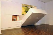 obývací pokoj + loznice