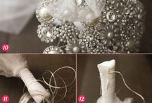 Brooch bouquet / Wedding