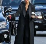 SIA FURLER Out for Coffee in Los Angeles