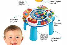 İlk Yaş Oyuncakları / Bebek Oyuncakları