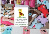 Onze kinderfeestjes | Atelier de groene ballon / Van schattige themafeestjes voor de echte ukkies, tot creatieve uitdagingen voor de bovenbouw; De groene ballon heeft voor basisschoolkinderen van alle leeftijden wat leuks in het assortiment! Thuis of in ons atelier in Den Haag.