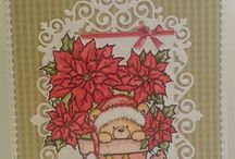 Wild Rose Studio Christmas cards