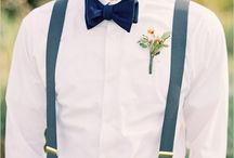 Groomsmen Attire / A collection of pins made to inspire groomsmen in their attire choices
