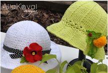 Crochet - Slippers, Hats, Headbands, Cowls, Swals