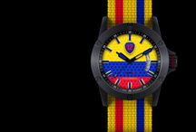 Colombia / Support #Colombia national #football team by wearing its #watch from #Twelv2!