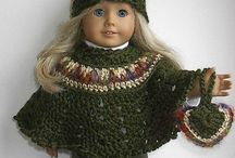 crochet doll clothes, hat etc. / by Lisa Gagas