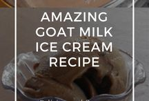 Goat Milk Treats! / Recipes I plan on altering to goats milk and vegan butter.