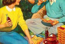 Fun Vintage Picnic Posters