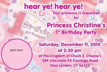 Princess theme / by Karen Dayton