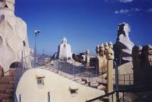 Rooftops - outdoor space and turrets / Magical turrets and fairytale roofs...