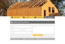 Página Web Novo Panel / Página Web Novo Panel. Empresa dedicada a la fabricación de paneles Sip. Agosto 2016