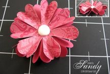 Crafts ~ Paper flowers