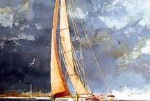 Malerei Strand Meer