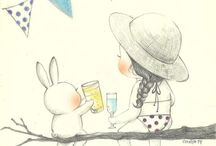 Grafolio coniglio
