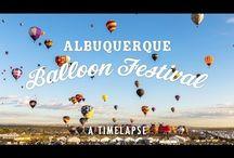 Travel / Albuquerque, NM, hot air balloon festival