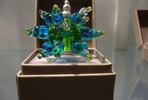 MORFIA Bagues / Bagues en verre de Murano faites main à l'Atelier Verrier MORFIA