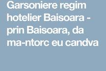 Garsoniere regim hotelier Baisoara