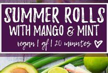 Summer Recipes ♡