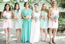 Mint + Blush Wedding