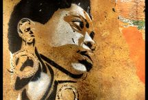 Stencils / Photo collection of stencils found during my journeys…