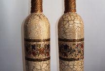 Бутылки украшения