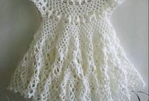 robes bébé crochet