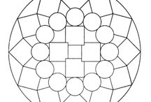 Disegni di Mandala da Colorare / Disegni di mandala da colorare