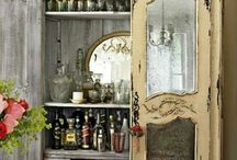 декор старой мебели,реставрация