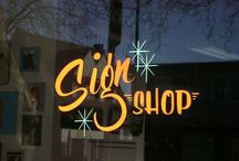 Sign Painting // Typography