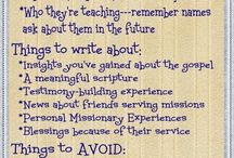 Missionary Stuff