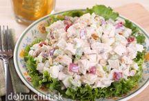 saláty ,pomazánky a studená kuchyně
