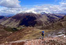 British Mountain landscapes  / Journey of a lifetime